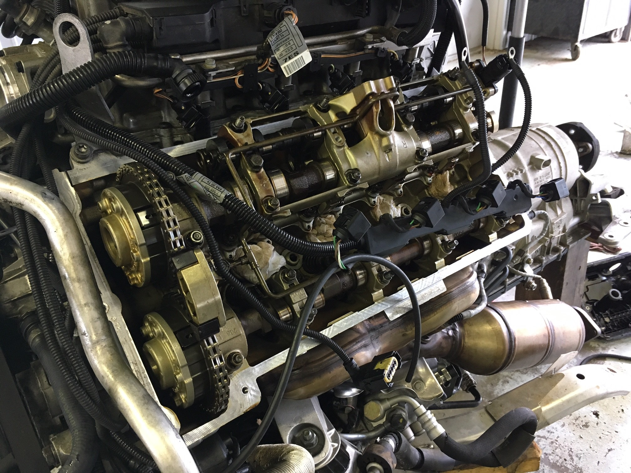 a Lexus car engine